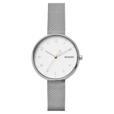 Skagen ANITA 北歐米蘭帶時尚女錶(SKW2623)-銀/35mm