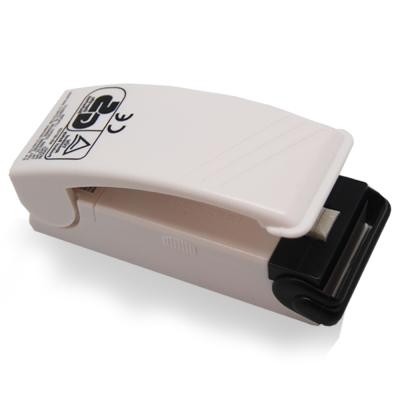 摩肯-暢銷日本一代掌上型封口機-白色電池款