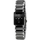 iwatch 方形個性時尚陶瓷錶-黑/18mm product thumbnail 1
