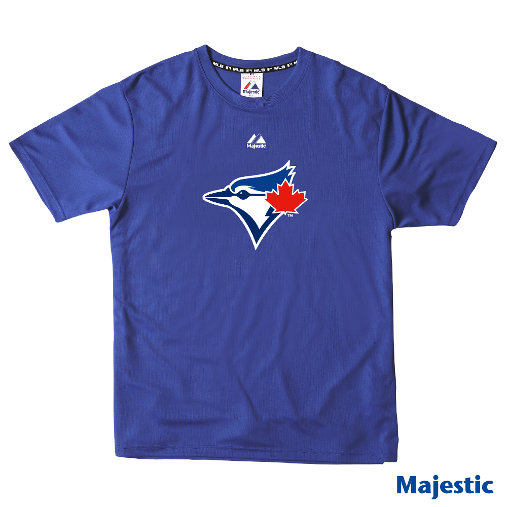 Majestic-多倫多藍鳥隊經典快排T恤-藍(男)