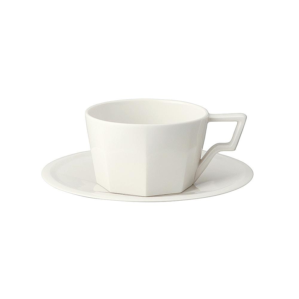 日本KINTO OCT八角咖啡杯盤組300ml