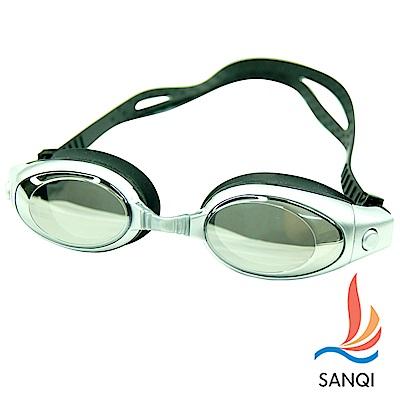 SANQI三奇  兒童泳鏡(200-灰)