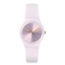Swatch 原創系列 GUIMAUVE 柔美粉紅手錶