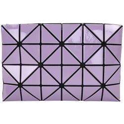 三宅一生BAO BAO ISSEY MIYAKE LUCENT 紫色漆亮萬用包(4x6)