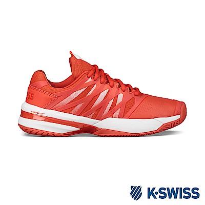 K-SWISS Ultrashot專業網球鞋-女-橘/白