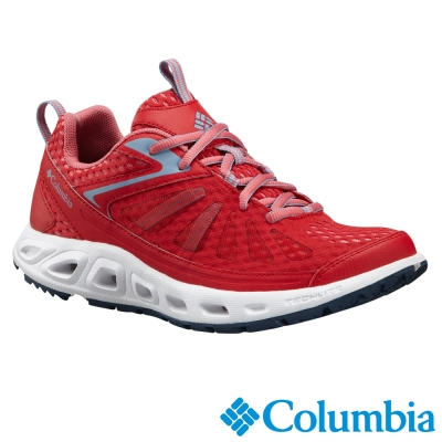 【Columbia哥倫比亞】女-水陸兩用鞋-紅色 UBL45260RD