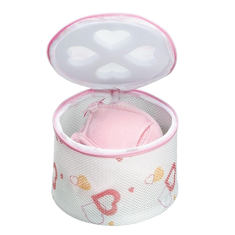 日本AISEN心形印花內衣洗衣網M