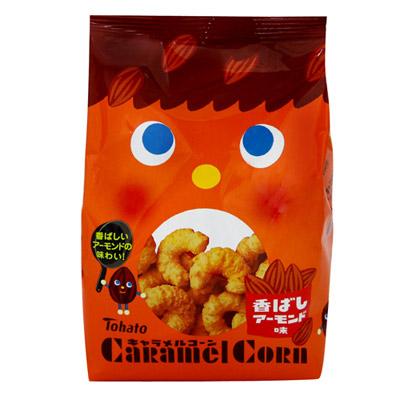東鳩-焦糖玉米脆果-焦香杏仁-80g
