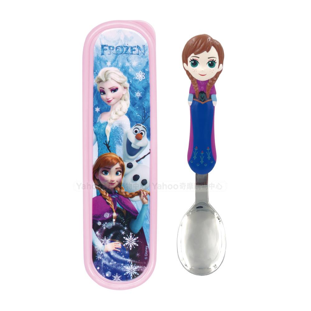 3D造型湯匙-冰雪奇緣Anna(附盒)