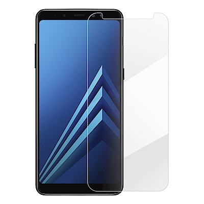 Metal-Slim Samsung Galaxy A8+ 2018 9H鋼化玻...