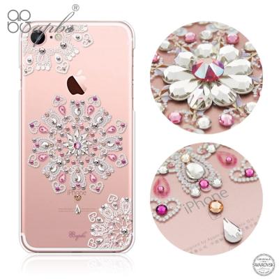 apbs iPhone8/7 4.7吋施華洛世奇彩鑽手機殼-映雪戀
