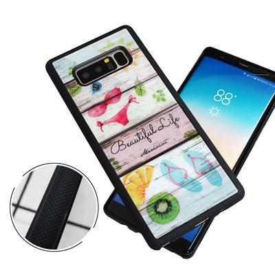 石墨黑系列 Samsung Galaxy Note 8 高質感側邊防滑手機殼(比...