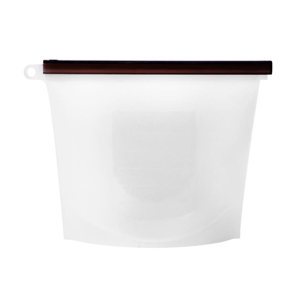 EG Home 宜居家 矽膠食物密封保鮮袋-加大版1500ml(4入)
