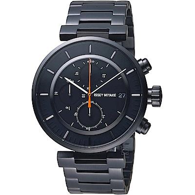 ISSEY MIYAKE三宅一生W系列強勁計時腕錶(VK67-0010SD )
