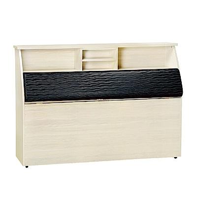 品家居 萊夫 3 . 5 尺單人皮革床頭箱(二色可選)- 109 x 30 x 112 . 5 cm免組