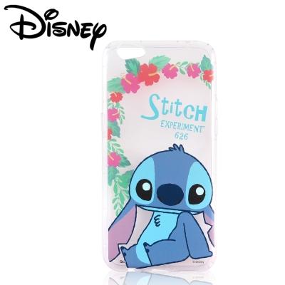 Disney迪士尼OPPO R9s Plus防摔氣墊空壓保護套_賞花系列_史迪奇