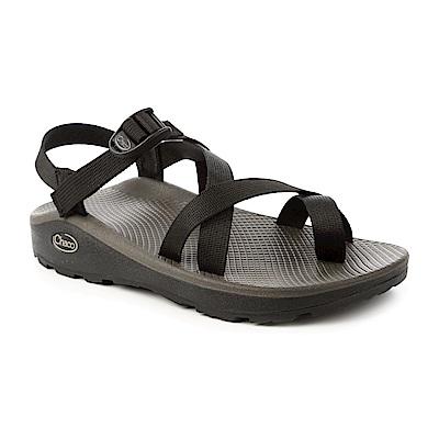 美國Chaco。男 越野舒壓運動涼鞋-夾腳款CH-ZLM02H405 (黑)