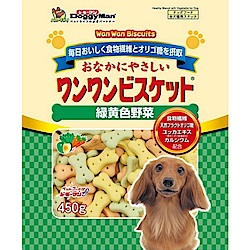 DoggyMan 犬用寡糖添加野菜消臭餅乾 450g