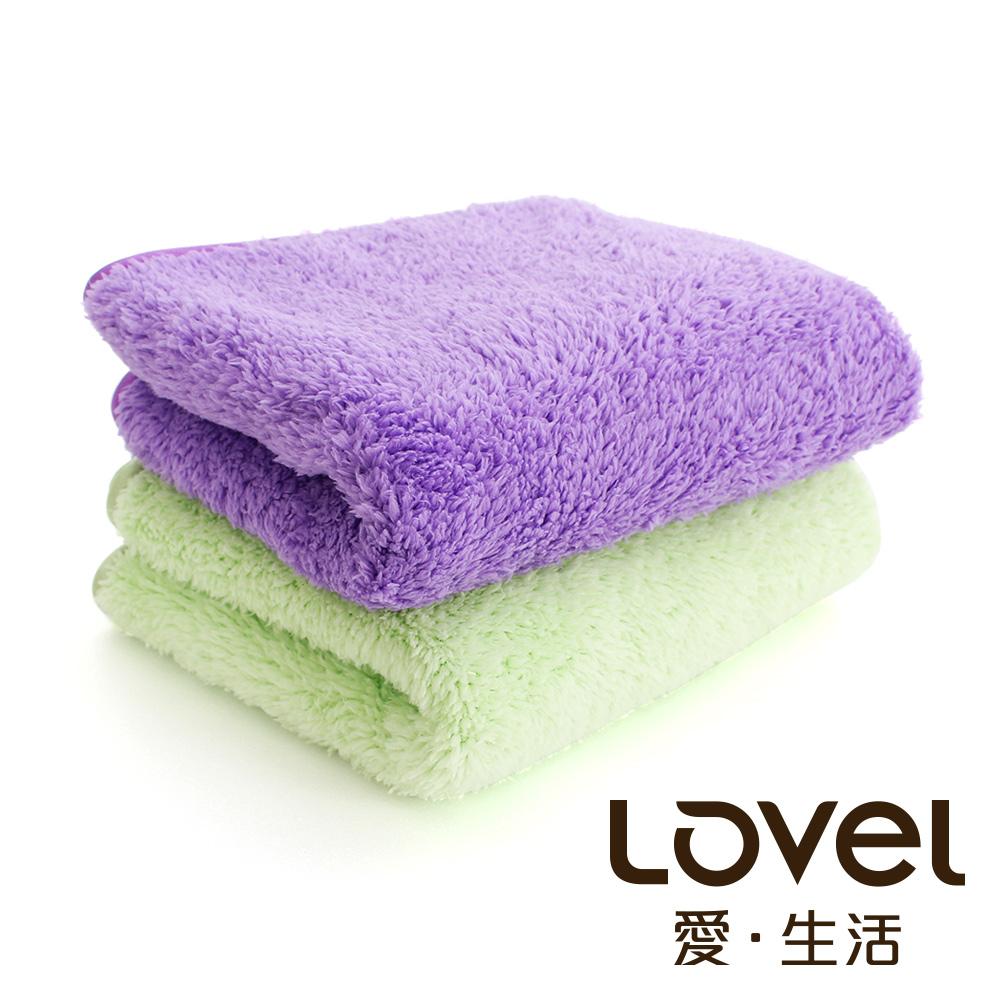 Lovel 全新升級第二代馬卡龍長絨毛纖維毛巾3件組(共5色)