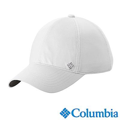 Columbia哥倫比亞 女款-抗UV50涼感棒球帽-白色 (UCL94960WT)