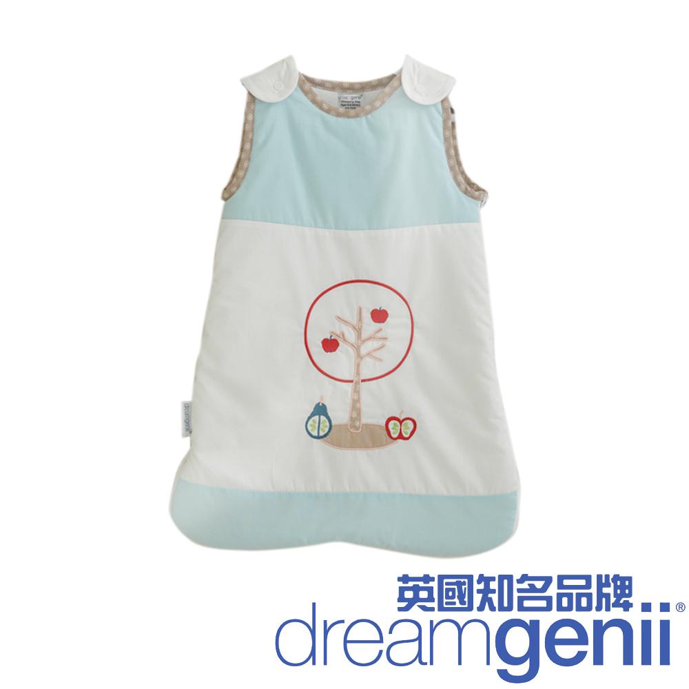 英國 Dreamgenii 防踢被嬰兒睡袋(粉藍色水果 L 大號)