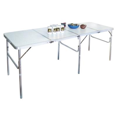 LIFECODE-180cm四折箱型鋁合金折疊桌-展示桌-野餐桌