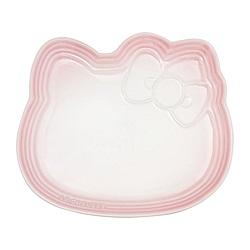 LE CREUSET x Hello Kitty瓷器造型餐盤(淡粉紅)
