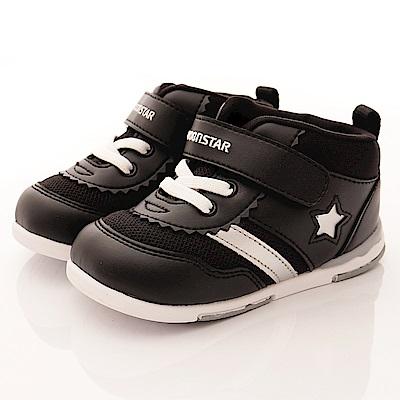 日本月星頂級童鞋 高機能學步款 NI56黑(寶寶段)T2