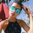RAY BAN太陽眼鏡 經典品牌/水銀藍-金#RB3576N 90391U