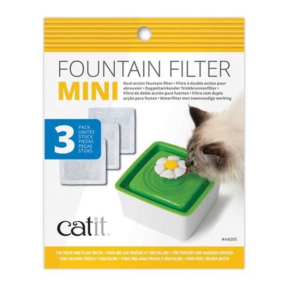 喵星樂活 Catit2.0 迷你飲水器活性碳濾棉 3入/盒
