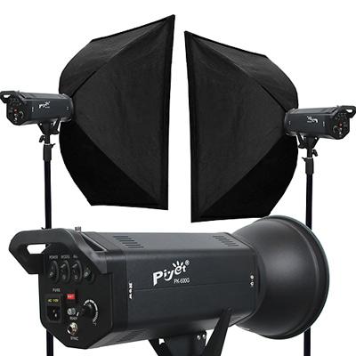 Piyet 大型專業攝影棚雙燈組合 ( PK-600G )
