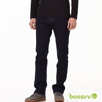 bossini男裝-修身牛仔褲01霧靛藍