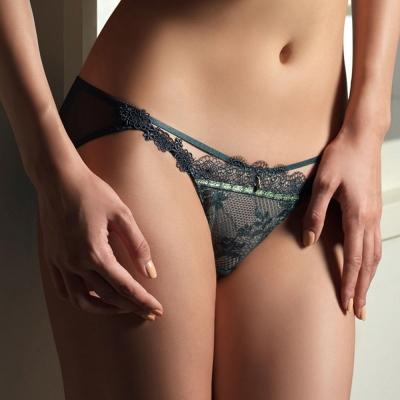LADY 菲露莎系列 低腰三角褲(愛戀綠)