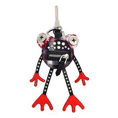 BURBERRY Doris 青蛙造型喀什米爾吊飾 (紅色)