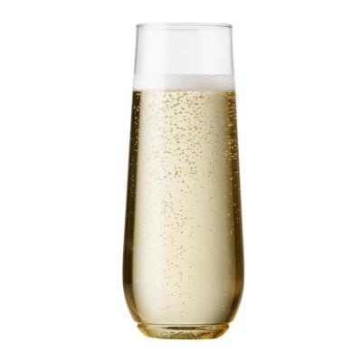 TOSSWARE Flute Jr 寶特環保酒杯系列-香檳杯9oz(48個/組) (8H)