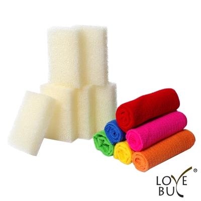 Love Buy 清潔12件組(抹布x6+菜瓜布x6)