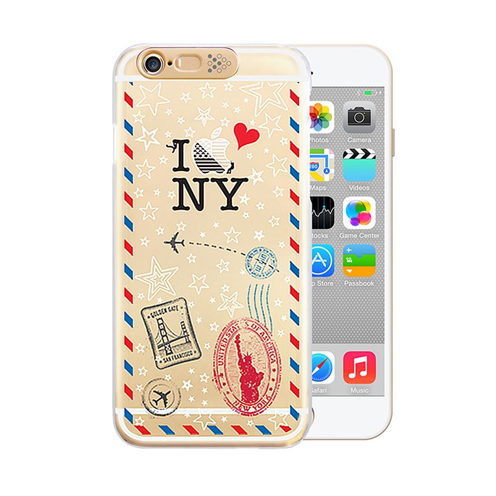 OPENBOX iPhone6/ 6S 爆閃手機殼 旅遊款-紐約