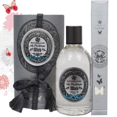 Bath & Bloom 蝶舞四季繽紛擴香精300ML-3月春天圓舞曲