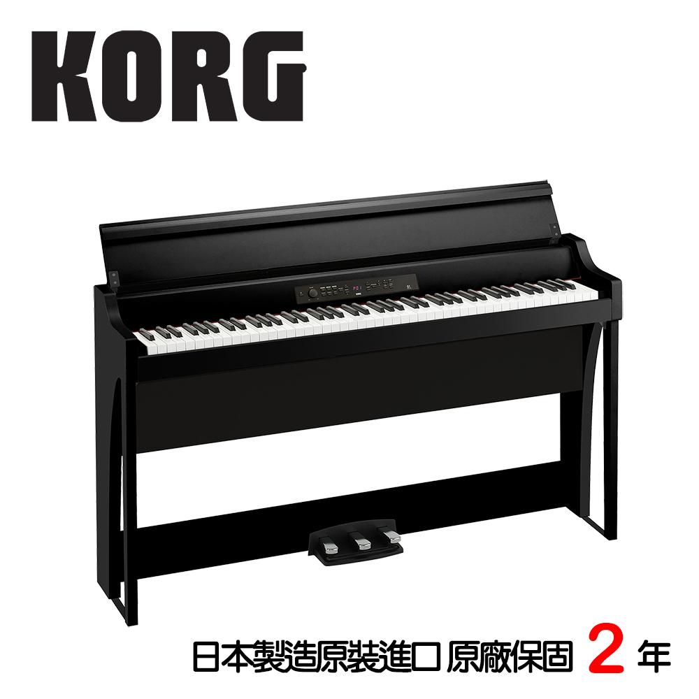 KORG G1 88鍵數位電鋼琴 曜石黑色款 旗艦機種