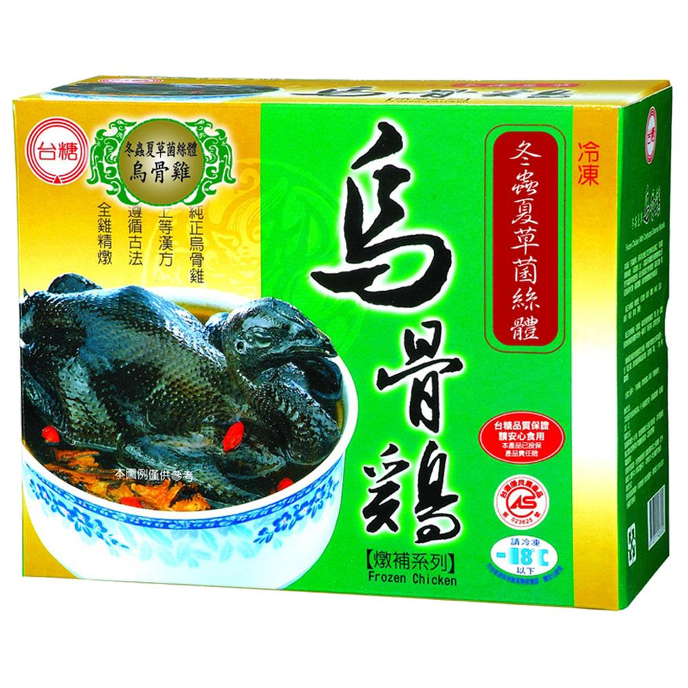 台糖 冬蟲夏草燉補烏骨雞3入(2.2kg±5%/盒)