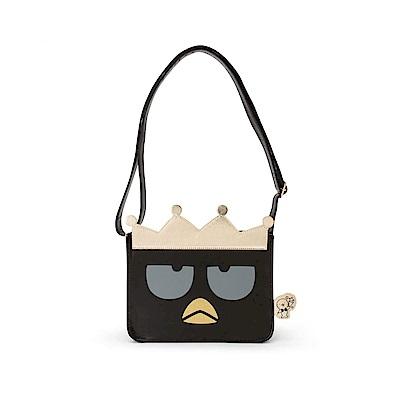 Sanrio 酷企鵝奢華派對系列大臉造型PU皮革迷你斜背包