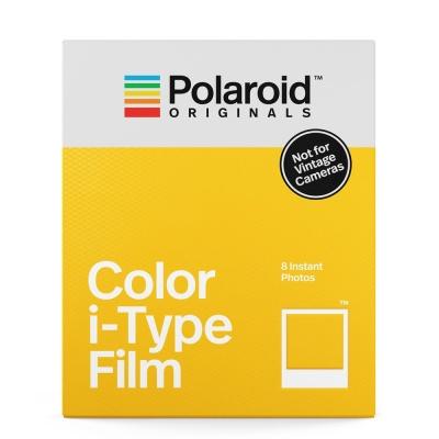 Polaroid Color Film for i-Type 彩色底片(白框)/2盒