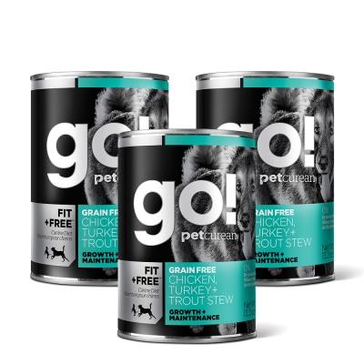 Go! 天然主食狗罐-品燉系列-無穀海陸-12件組