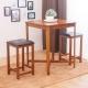AS-蓓琪與芭芭拉吧檯桌椅組-一桌兩椅-75x75