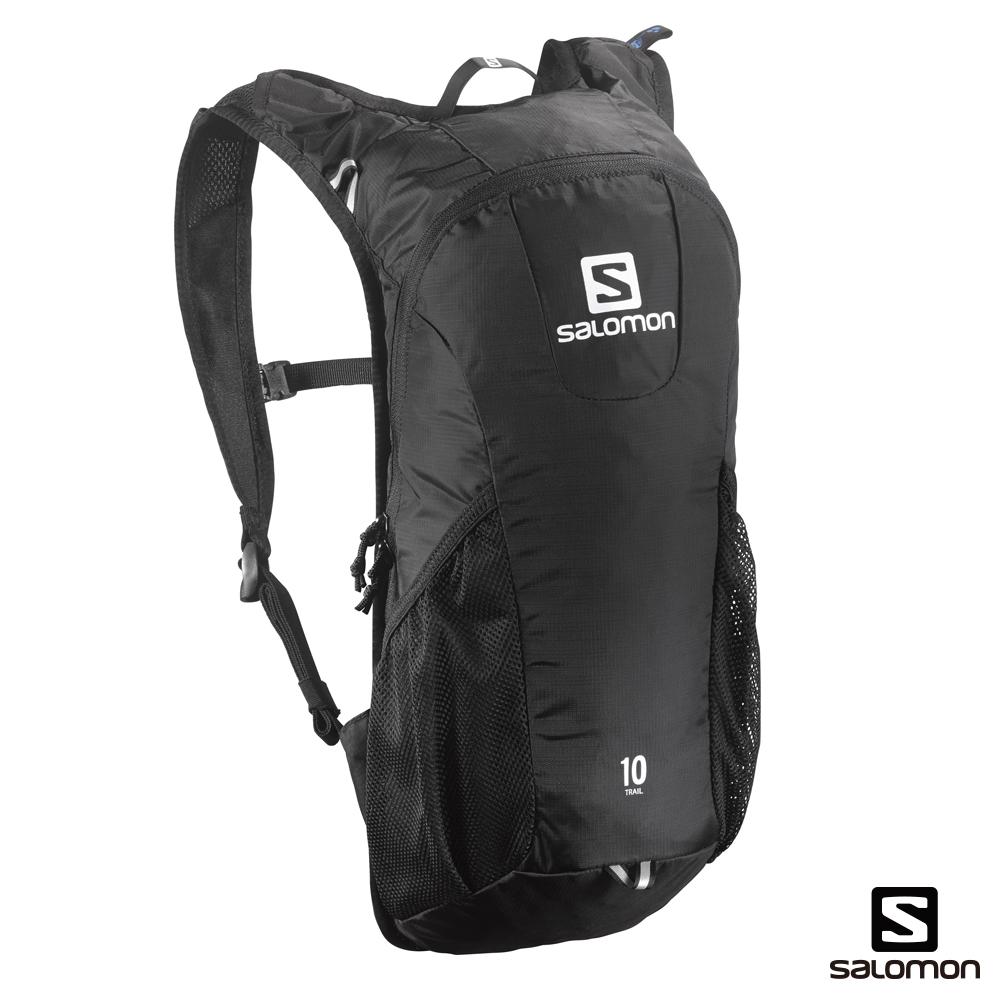 Salomon 所羅門 TRAIL 10 水袋背包 黑