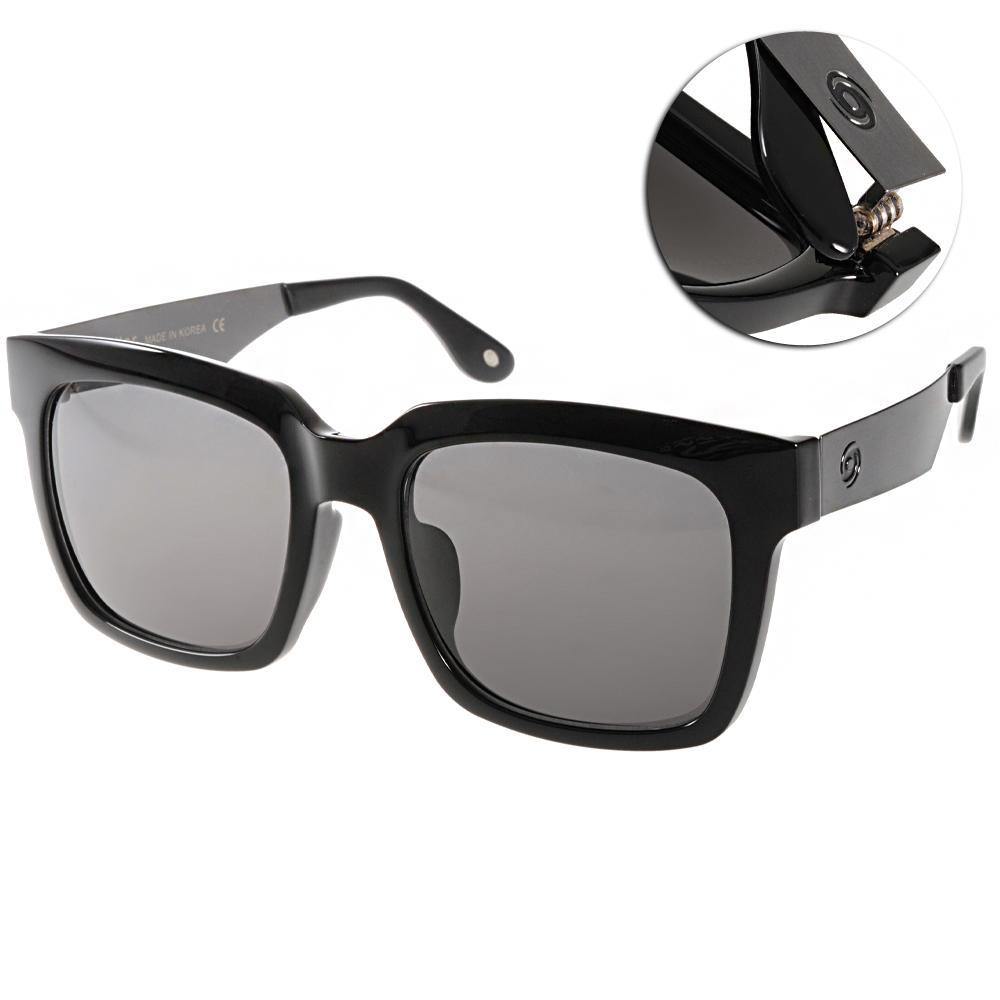 Go-Getter太陽眼鏡 個性方框/黑-銀#GS4008 07