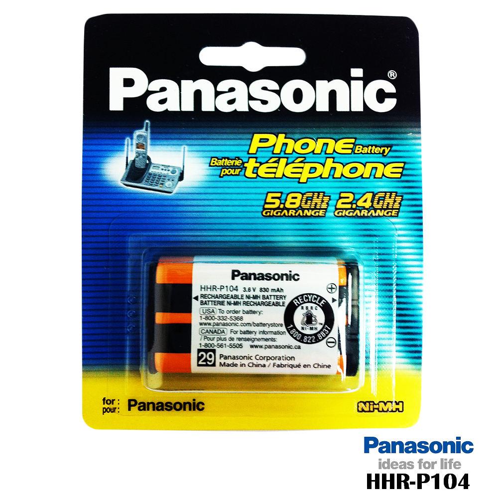 國際牌 DECT電話專用 原廠電池 HHR-P104