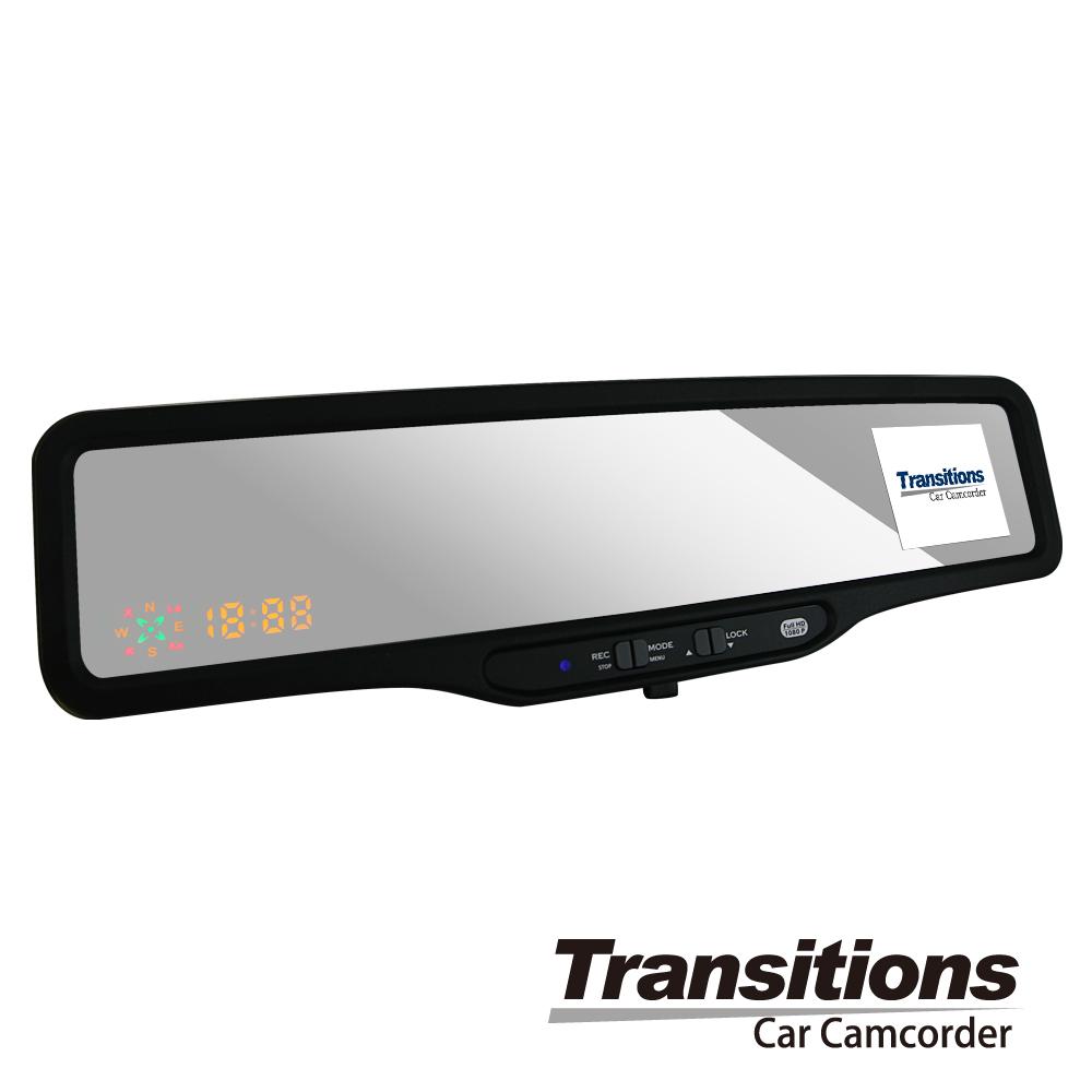 全視線X500w 1080P後視鏡型GPS測速行車記錄器