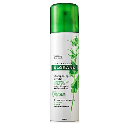 Klorane蔻蘿蘭 蕁麻控油澎鬆乾洗髮噴霧 150ml