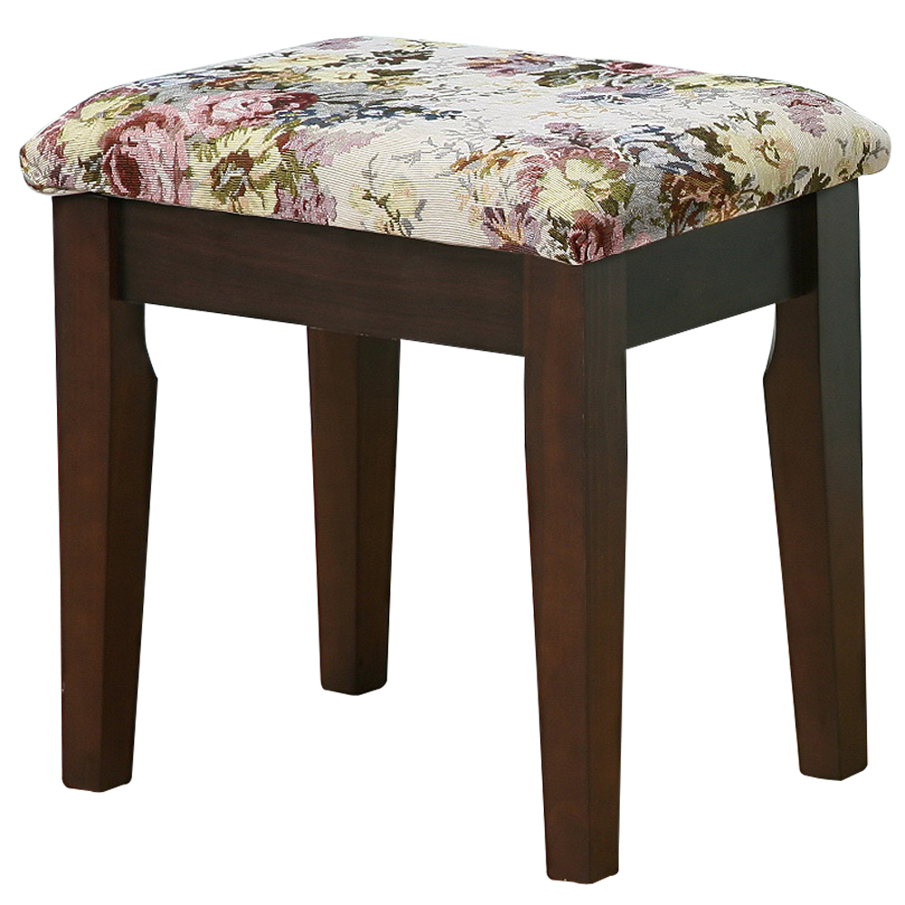 《Homelike》雅緻胡桃化妝椅